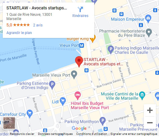 Plan d'accès Marseille